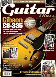July 2013 Gibson ES-335 issue July 2013 Gibson ES-335