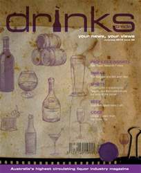 Drinks Trade Magazine Cover
