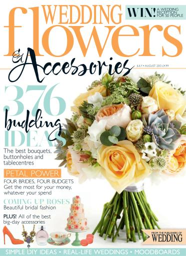 wedding flowers magazine july august 2013 subscriptions pocketmags. Black Bedroom Furniture Sets. Home Design Ideas
