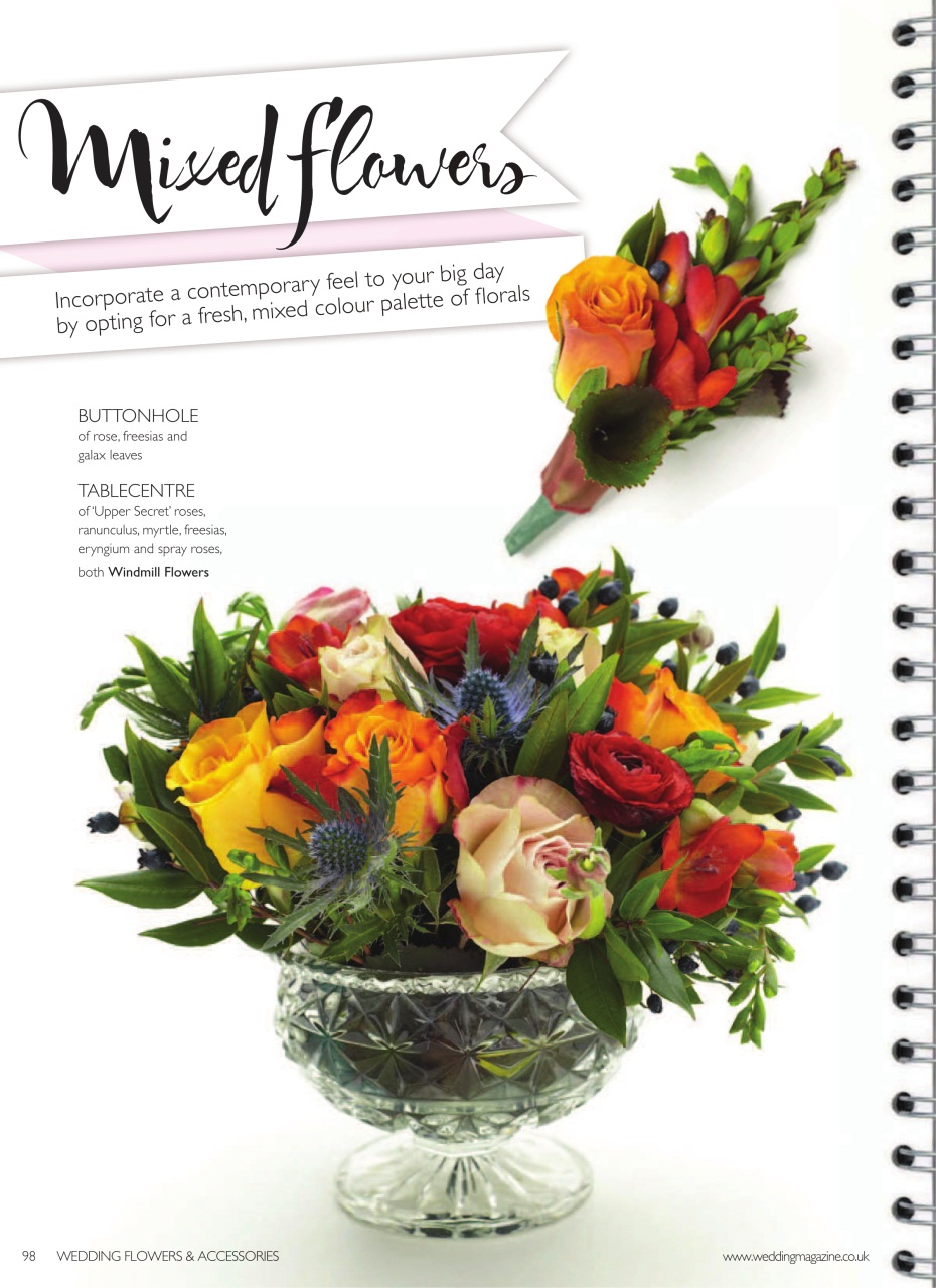 Wedding Flowers Magazine July August 2013 Subscriptions Pocketmags