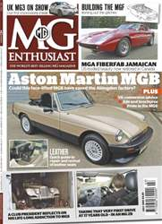 Aston Martin MGB July 2013 issue Aston Martin MGB July 2013
