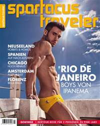 Spartacus Traveler Magazine Cover