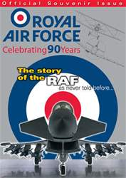 Royal Air Force - 90 Years Magazine Cover