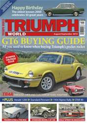 Triumph World Aug_Sept 2013 issue Triumph World Aug_Sept 2013