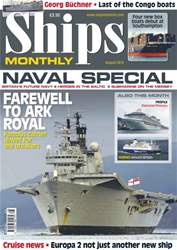 Ships Monthly August 13 issue Ships Monthly August 13