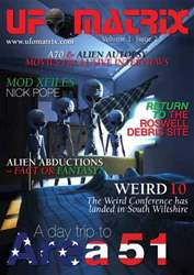 UFO Matrix Magazine Cover