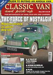 Classic Van May 2013 issue Classic Van May 2013