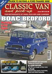 Classic Van June 2013 issue Classic Van June 2013