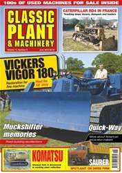Plant & Machinery June 2013 issue Plant & Machinery June 2013