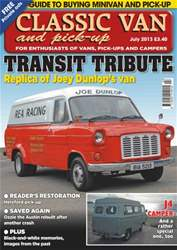 Classic Van July 2013 issue Classic Van July 2013