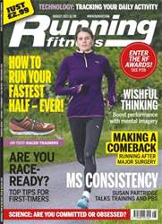 Running Fitness August 2013 issue Running Fitness August 2013