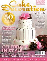 Cake Decoration Heaven Autumn 13 issue Cake Decoration Heaven Autumn 13
