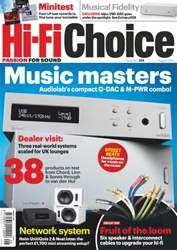 Hi-Fi Choice August 2013 issue Hi-Fi Choice August 2013