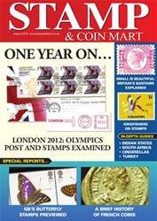 Stamp & Coin Mart August 2013 issue Stamp & Coin Mart August 2013
