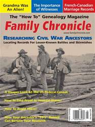 Your Genealogy Today Magazine Cover