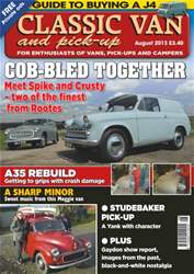 Classic Van & Pick-up Aug 2013 issue Classic Van & Pick-up Aug 2013