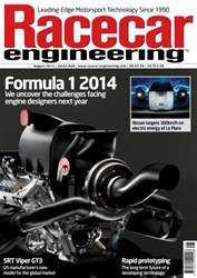 Racecar Engineering August 2013 issue Racecar Engineering August 2013