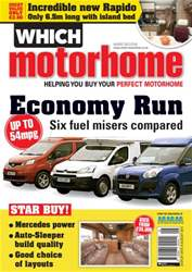 Which Motorhome August 2013 issue Which Motorhome August 2013