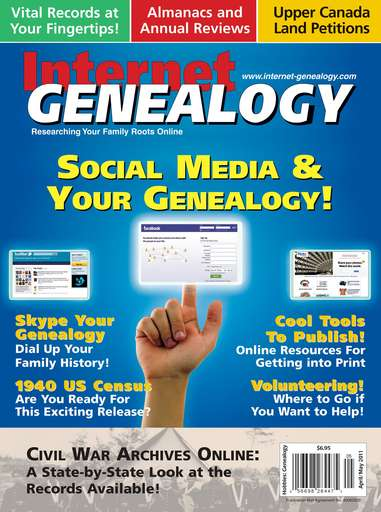 Internet Genealogy Digital Issue
