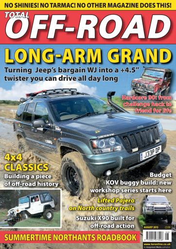 4x4 magazine incorporating total off road august 2013 subscriptions pocketmags. Black Bedroom Furniture Sets. Home Design Ideas
