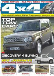 4x4 Magazine September 2013 issue 4x4 Magazine September 2013