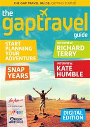 Gap Travel: Getting Started issue Gap Travel: Getting Started