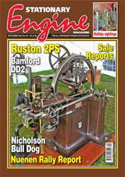 Stationary Engine September 2013 issue Stationary Engine September 2013
