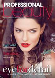 Professional Beauty August 2013 issue Professional Beauty August 2013