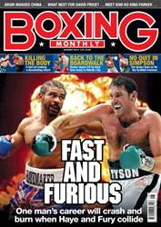 Boxing Monthly August 2013 issue Boxing Monthly August 2013