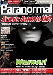 Paranormal Magazine Cover