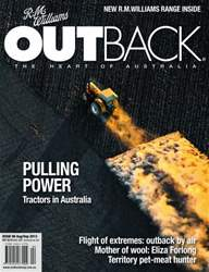 OUTBACK 90 issue OUTBACK 90