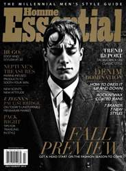 Essential Homme Magazine Cover