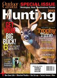 Hunting 2013 issue Hunting 2013
