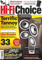 Hi-Fi Choice September 2013 issue Hi-Fi Choice September 2013