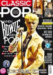 Classic Pop David Bowie issue Classic Pop David Bowie