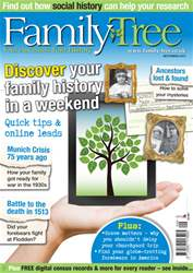 Family Tree September 2013 issue Family Tree September 2013