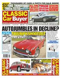 Classic Car Buyer August 7 2013 issue Classic Car Buyer August 7 2013