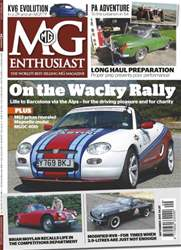 MG Enthusiast September 2013 issue MG Enthusiast September 2013