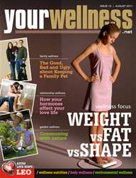 Weight vs Fat vs Shape issue Weight vs Fat vs Shape