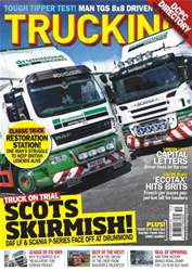 Trucking Magazine Magazine Cover