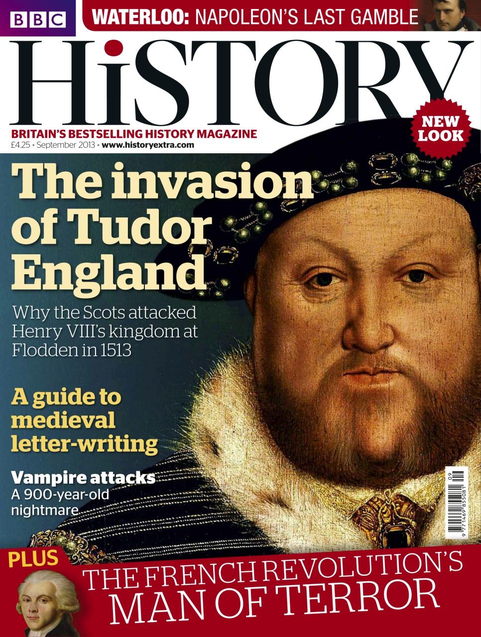 BBC History Magazine - September 2013 Subscriptions   Pocketmags