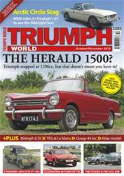 Triumph World Oct-Nov issue Triumph World Oct-Nov