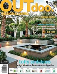 Outdoor Design & Living Magazine Cover