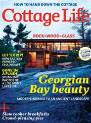 Cottage Life Magazine Cover