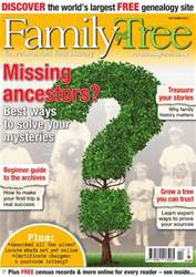 Family Tree October 2013 issue Family Tree October 2013