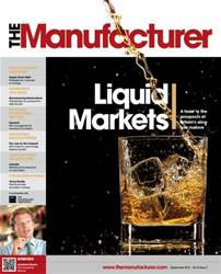 The Manufacturer September 2013 issue The Manufacturer September 2013