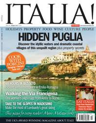 October 2013 Hidden Puglia issue October 2013 Hidden Puglia