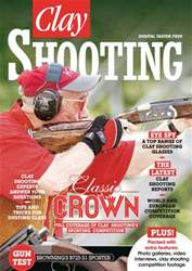 FREE Clay Shooting Taster issue FREE Clay Shooting Taster