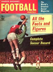 Charles Buchan's Football Monthly Magazine Cover