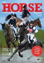 The Horse Magazine October 2013 issue The Horse Magazine October 2013